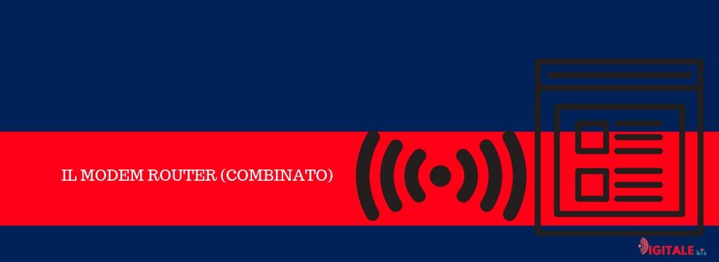 modem router combinato